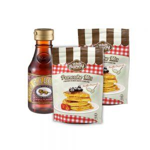 Pancake Mix doppio con sciroppo all'acero