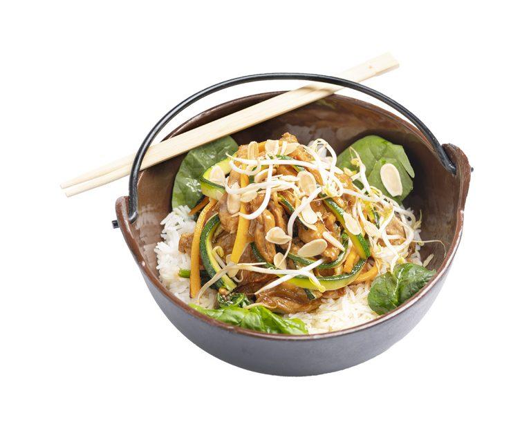 Rice Chicken Thai
